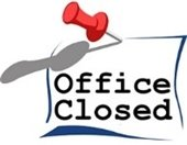 Town Office: Closed July 3rd