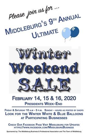 Winter Weekend Sale