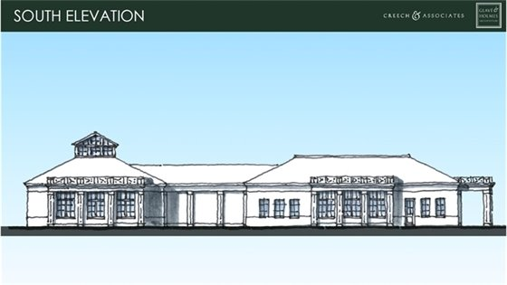 New Town Hall Sketch
