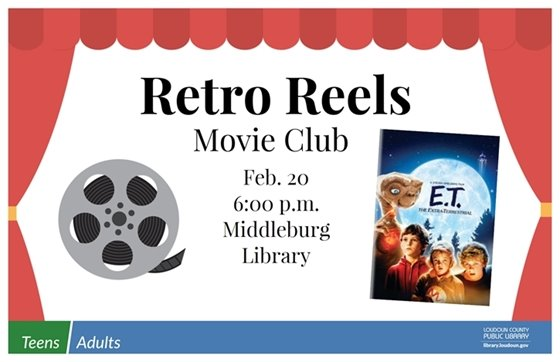 Middleburg Library, Retro Reels ET