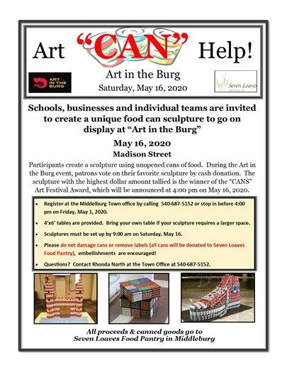 Art CAN Help flyer