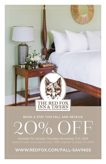 Red Fox Inn Flyer