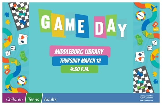 MB Library, Game Day