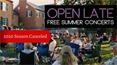 NSLM: Open Late Concernt Series Canceled