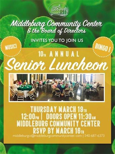 MB Community Center, Senior Luncheon