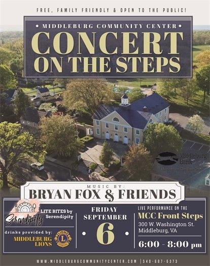 Concert on the Steps, Sept Flyer