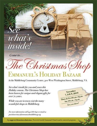 Emmanuel Church, The Christmas Shop