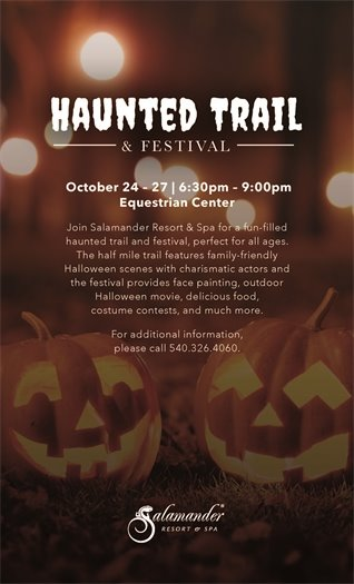 Salamander Resort Haunted Trail & Festival