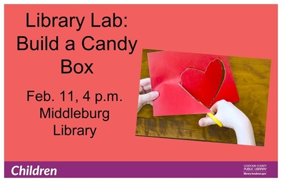 Middleburg Library, Library Lab flyer