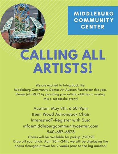 Community Center, Art Auction
