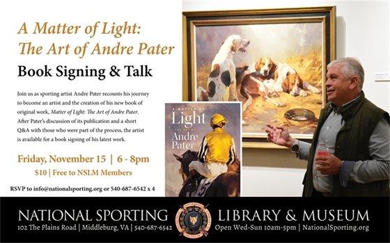 NSLM, Andre Patter Book Signing