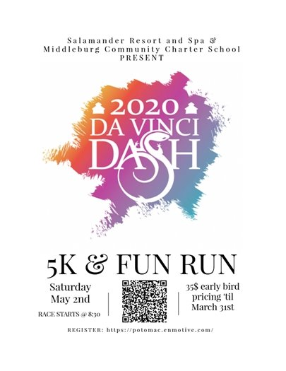 Middleburg Comm Charter School Da Vinci Dash