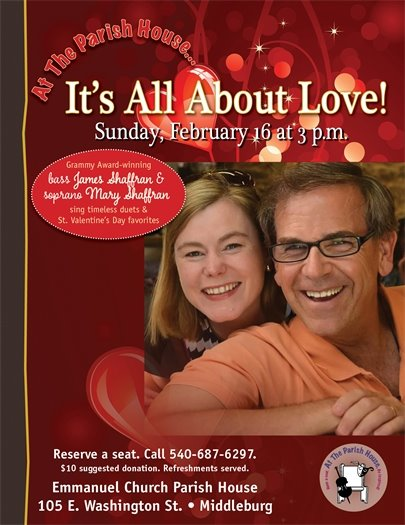 Emmanuel Church, It's All About Love Flyer