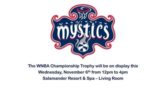 Salamander Resort Mystics Championship Trophy