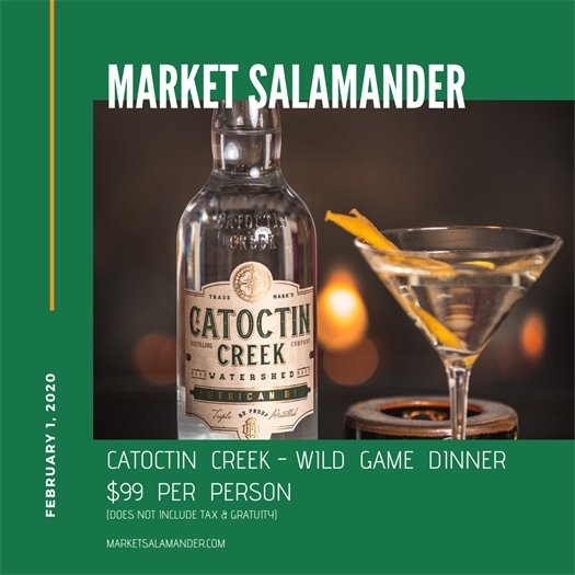 Market Salamander, Catoctin Creek Dinner flyer