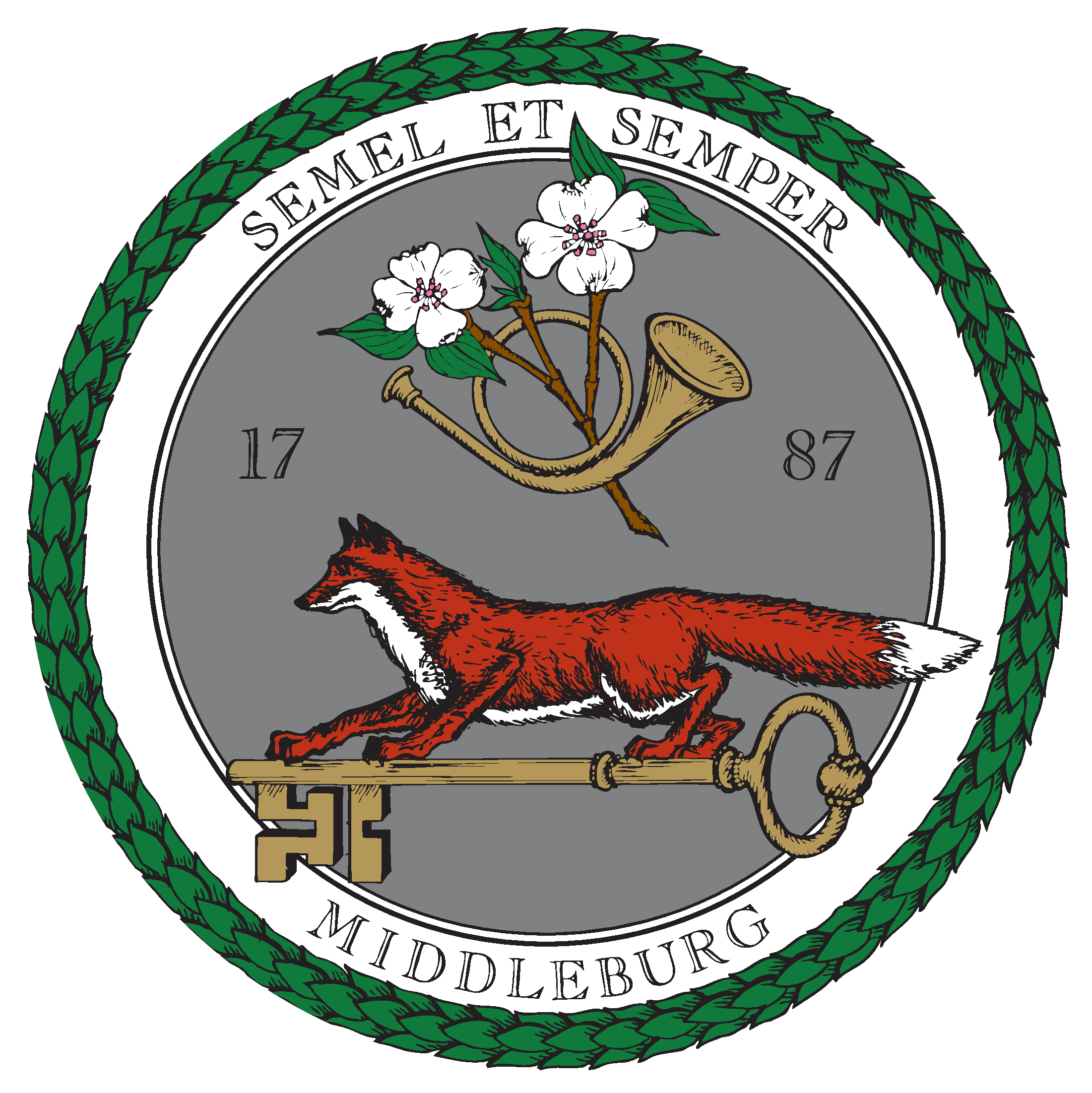 Town of Middleburg Seal CIRCLE