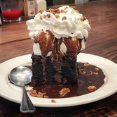 Brownie Sundae from King Street Oyster Bar (Photo from Middleburg Facebook Page)