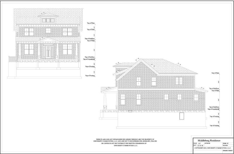 107 Reed Street elevations