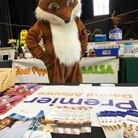 Freddy the Fox at Health Fair